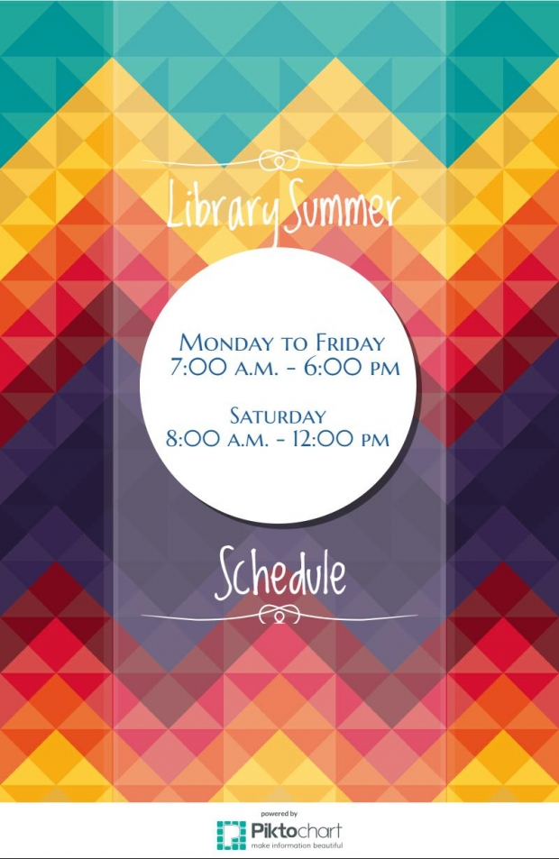 Library Summer Sched