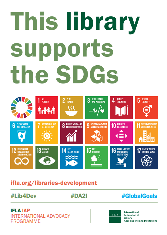 This Library Supports SDG